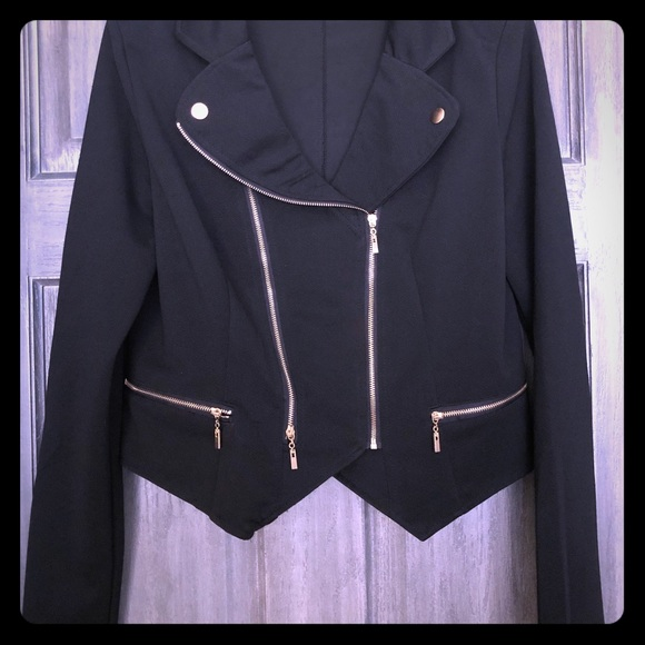 Jackets & Blazers - New with Tags! Lightweight Motorcycle Style Jacket